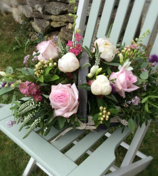 Trug of Flowers