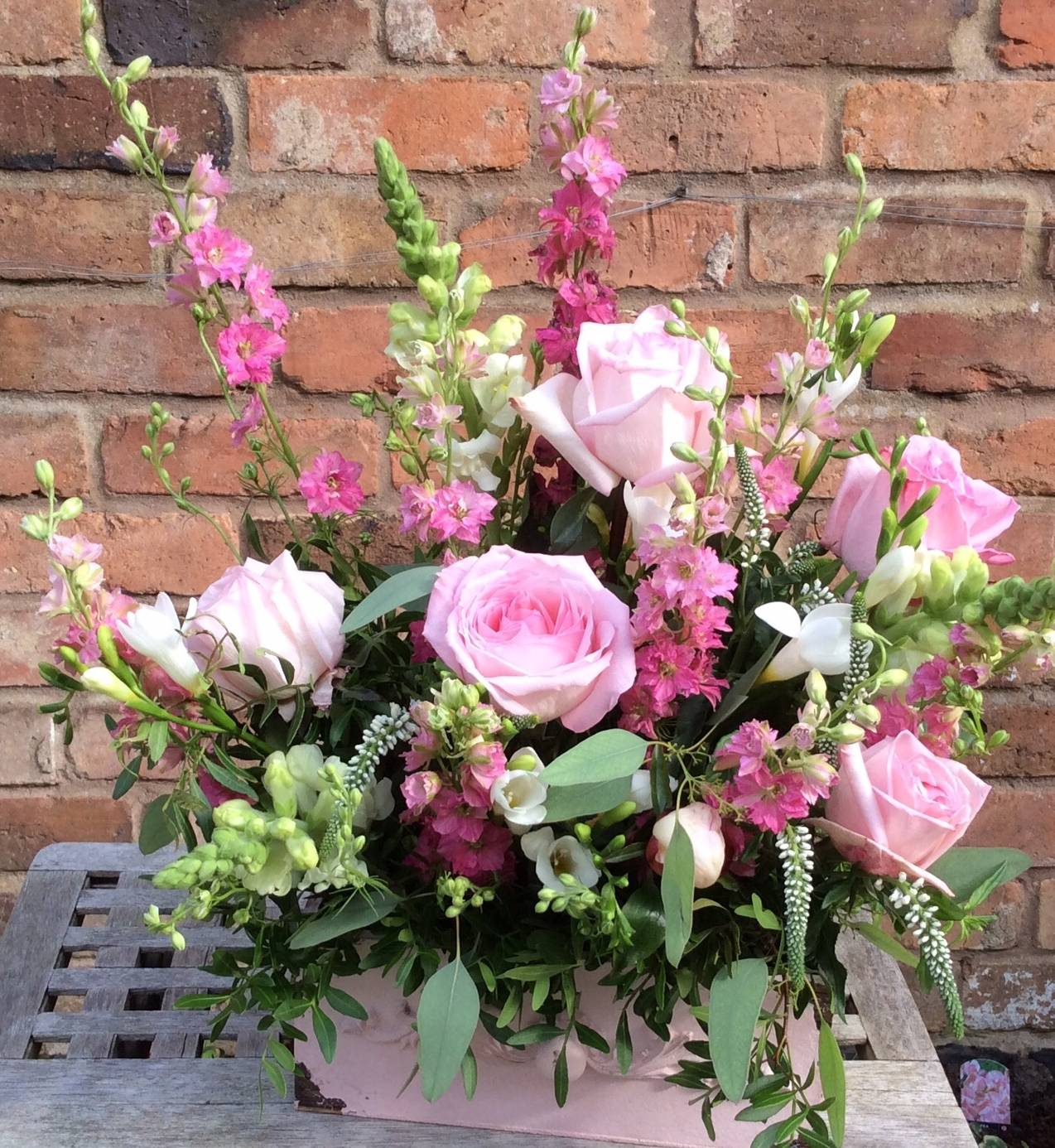 Pretty In Pink Rose Cottage Floristry